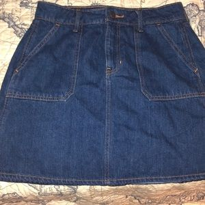Old Navy denim miniskirt size 0